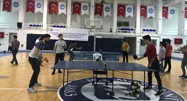 Masa Tenisi Turnuvası 2019